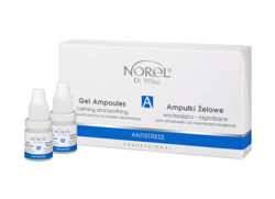 Norel - Antistress - Soothing Ampoules For Sonophoresis And For No-Needle Mesotherapy (Ampułki do sonoforezy i mezoterapii bezigłowe)j 4x5ml PA 104