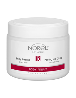 Norel - Body Rejuve - Body Peeling Cranberry (Peeling do ciała żurawinowy) 500ml 5902194141925 PP 177