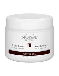 Norel - Coffee SPA - (ZUŻYĆ DO 31/10/20) Coffee Cream For Body Massage (Krem kawowy do masażu ciała) 500ml 5902194142311 PB 307