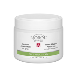 Norel - FACE ALGAE MASK - Peel-off Algae Mask Anti-Age, With Red Grape (Maska algowa plastyczna czerwone winogrona) 250g 5902194141512 PN 299