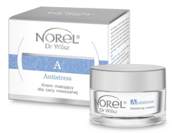 Norel HOME - Antistress - Mattifying Cream For Combination Skin (Krem matujący cera mieszana i wrażliwa) 50ml 5902194140355 DK 251