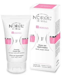 Norel HOME - Firming Cream-Gel For Bust, Neck And Neckline (Krem żel ujędrniający biust, szyja, dekolt) 150ml 5902194140539 DZ 048