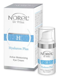 Norel HOME - Hyaluron Plus - Active Moisturizing Eye Cream (Aktywnie nawilżający krem pod oczy) 15ml 5902194143103 DZ 217