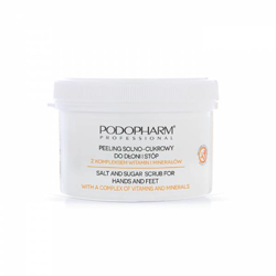Podopharm PRO - SPA SCRUB FOR HANDS AND FEET WITH A COMPLEX OF VITAMINS AND MINERALS (Peeling do dłoni i stóp z witaminami i minerałami) 600g 1624